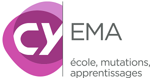 Logo laboratoire ÉMA - École, Mutations, Apprentissages.