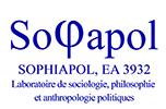 Logo Sophiapol, EA3932, Laboratoire de sociologie, philosophie et anthropologie politiques.